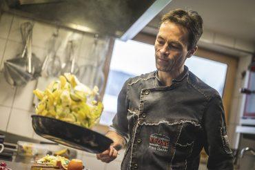 Kochen oder Sport: Frank Übelhör immer voll dabei