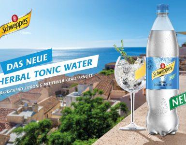 Noch mehr Tonic-Vielfalt: Schweppes launcht neues Herbal Tonic Water