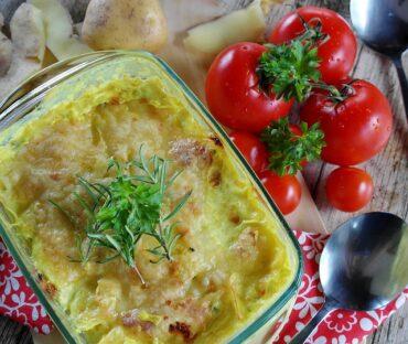 Lauch-Kartoffel-Auflauf